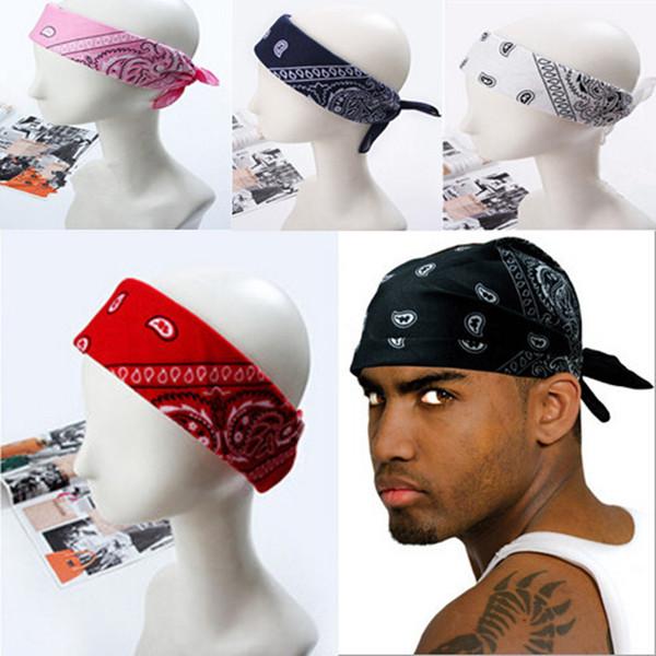1PC Hip-hop Bandanas for Male Female Men Women Head Scarf Scarves Multi Colour Wristband 2014 Cotton(China (Mainland))