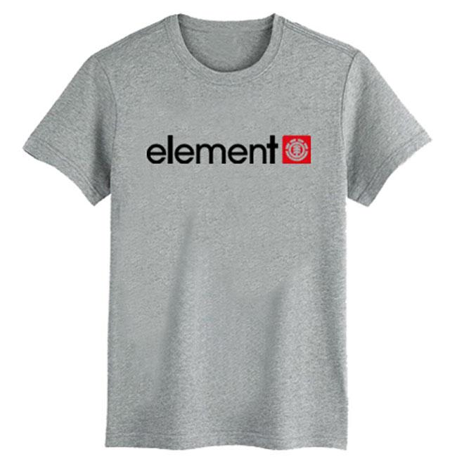New 2015 Arrival Skateboard element sport Men T-shirts Men Fashion Skateboard Street Boy Hiphop Hip-hop 100% Cotton T Shirt(China (Mainland))