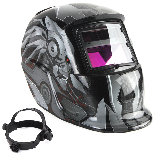 Newest Hot Sale Auto Cool Darkening Welding Helmet Mask Welders Arc Tig Mig Grinding Solar Powered For Welders Mask High Qulaity(China (Mainland))