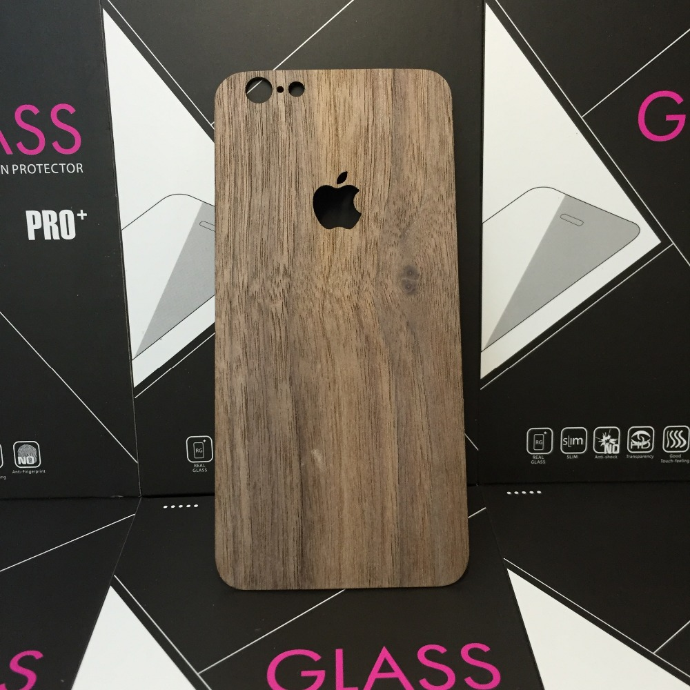 North American walnut for iPhone 7 phone back to paste the phone shells wooden wood solid wood after the cover(China (Mainland))
