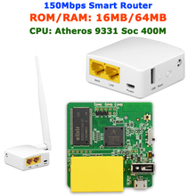GL.iNet AR-150 150Mbps AR9331 OPENWRT Firmware Mini Routers Wi Fi Router WiFi Repeater Booster Extender with External Antenna(China (Mainland))