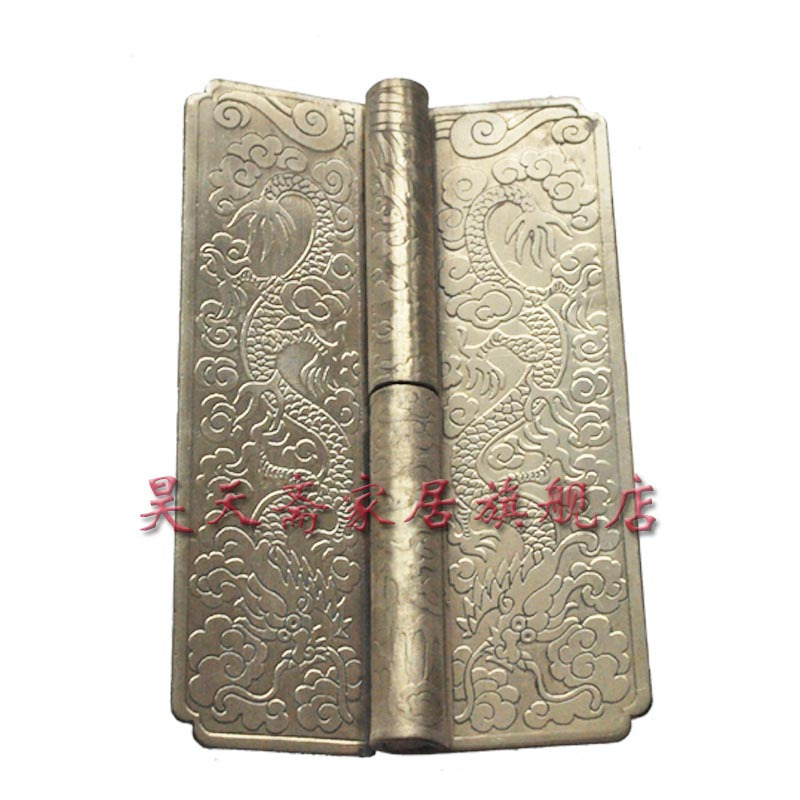 [Haotian vegetarian] antique copper hinge top cabinet white copper engraved copper thickening HTF-066(China (Mainland))