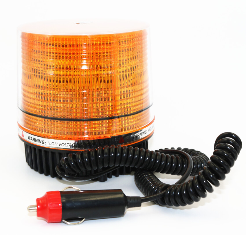 30 LED Emergency Flash Strobe and Rotating Beacon Warning Light 12W Amber<br><br>Aliexpress