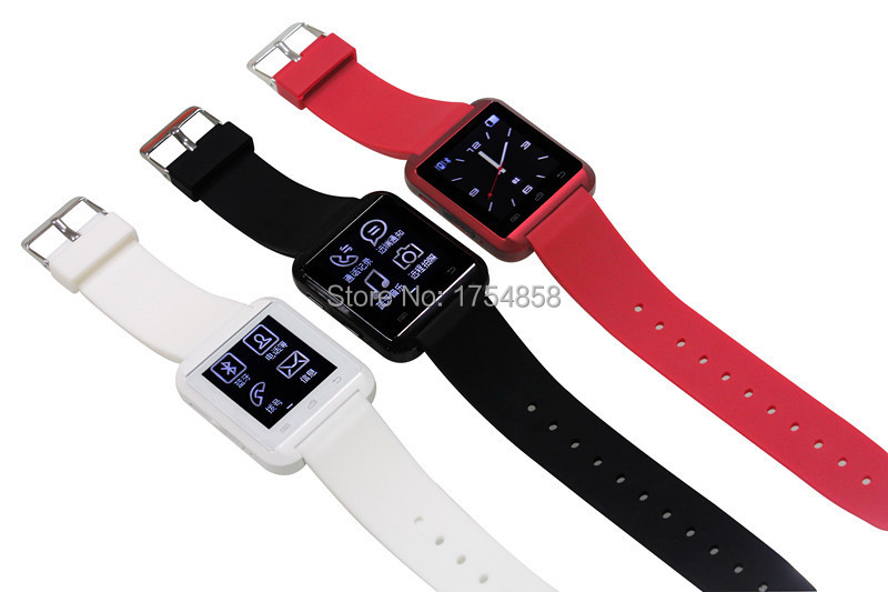 Cheap Bluetooth Smart Watch Fashion Touch Screen cell phone watch for iphone5/5s android system(China (Mainland))