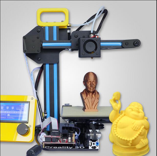 HIC 2015 high quality HICtech  prusa i3 extruder 3d printer open source kit diy