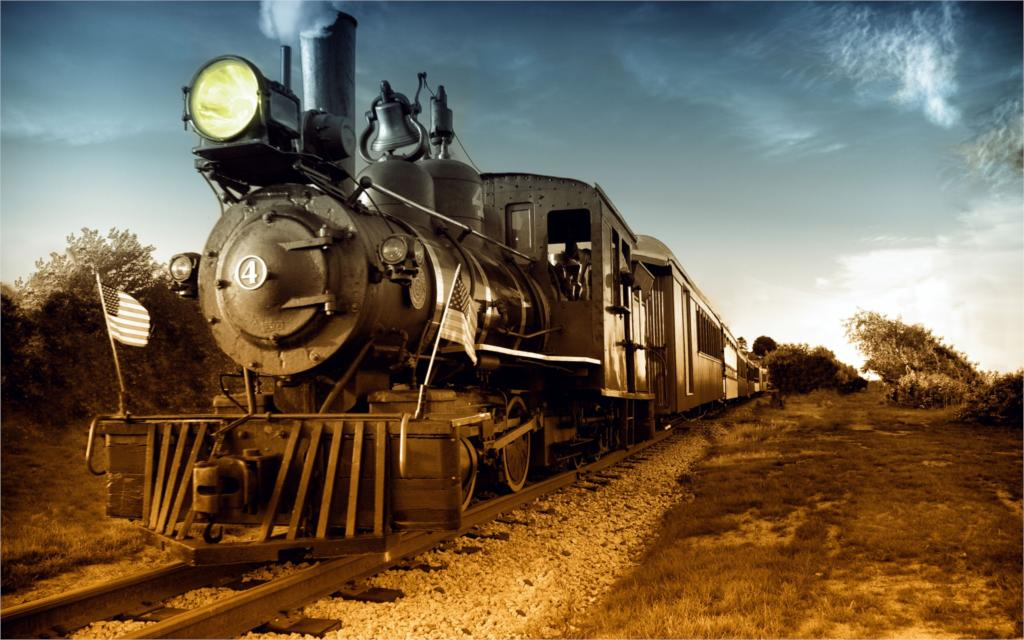 steam us locomotive locomotive vintage photo traffic 12x18 20x30 24x36 32x48 Inch poster Print 1(China (Mainland))