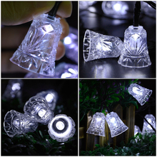 LED String Light Small Bell for Garden