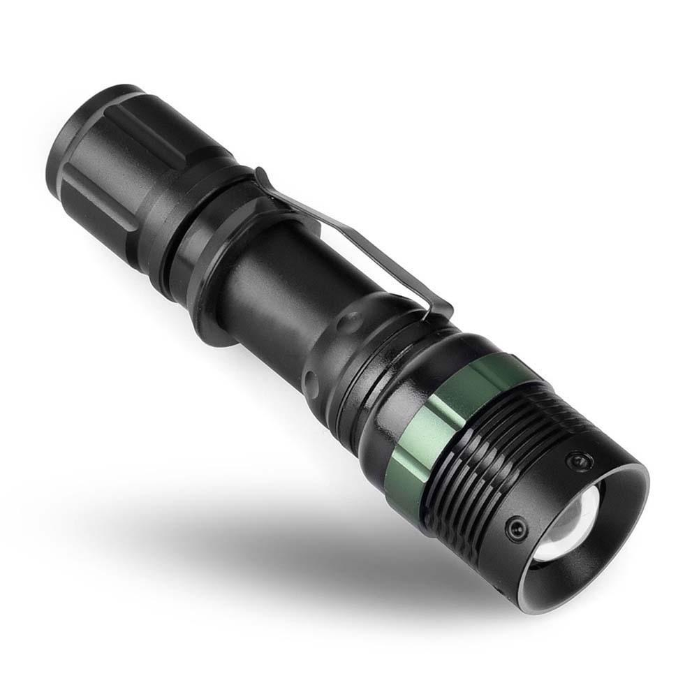NEW CREE XM L T6 3500 Lumens Cree Led Torch Zoomable Cree ...