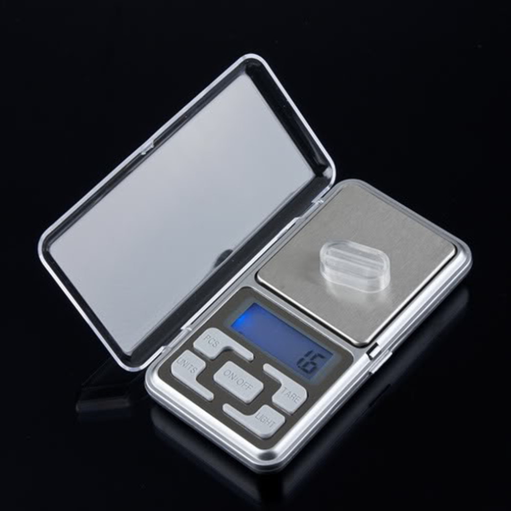 image for In Stock ! Stainless Steel 500g 0.1g Digital Electronic LCD Jewelry Po