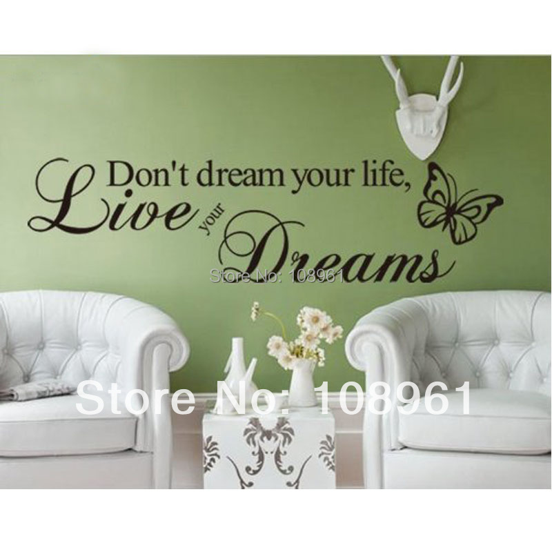 don 39 t dream your life live your dreams butterfly