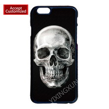 Horrible Skull Case for LG G2 G3 G4 iPhone 4S 5S 5C 6 6S 7 Plus iPod 4 5 6 Samsung Note 2 3 4 5 S2 S3 S4 S5 Mini S6 S7 Edge Plus(China (Mainland))