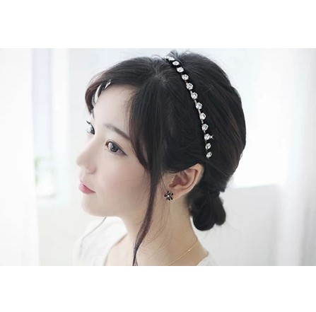 Min. order is 9usd(mix order) Series star style bling created diamond hair band(China (Mainland))