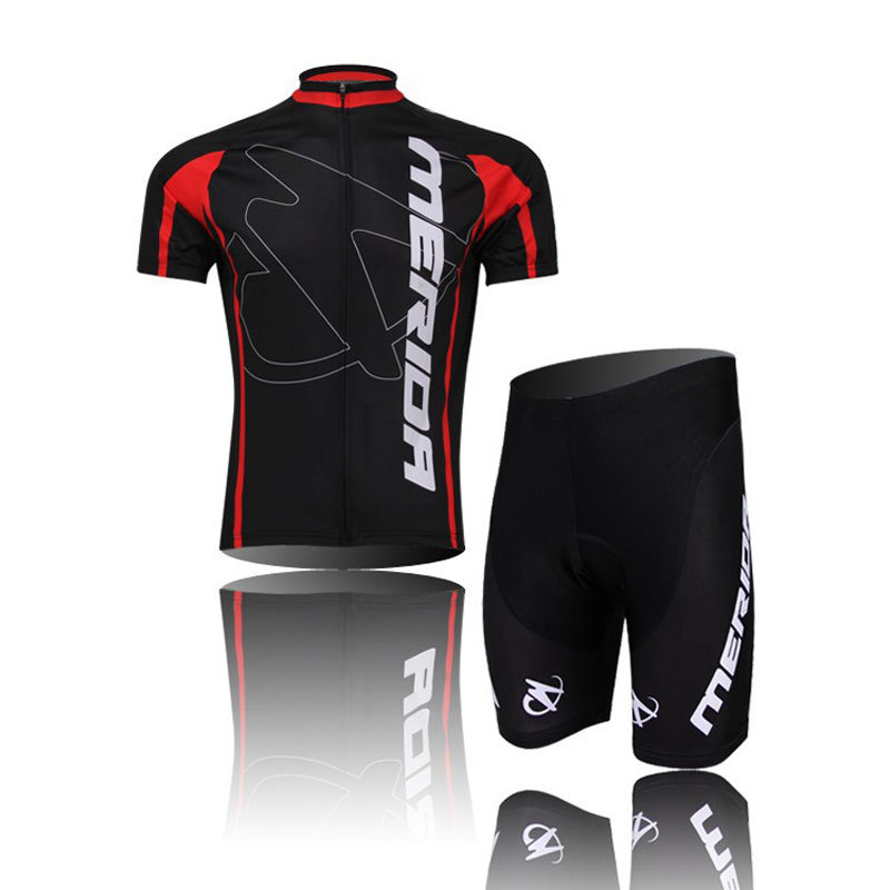 2014 Merida Cycling clothing /Cycling wear/ Cycling jersey short sleeve Shorts Suite CD0810(China (Mainland))