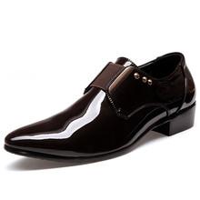 Nuevo estilo 2015 hombres visten zapatos otoño invierno Casual Oxfords de negocios formales transpirable Sapatos Masculinos hombres zapatos negro 7-9(China (Mainland))