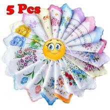 11.8″ 5 PCS Handkerchief Hanky Quadrate Women Men Children Wedding 100% Cotton Free Shipping