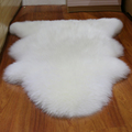 New entire sheepskin wool cushion pure wool carpet in the living room sofa cushion pad woolfell