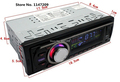 NEW 12V High Power Car Radio FM MP3 Player with USB slot supports Play MP3 WMA