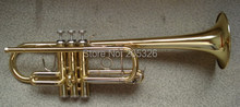 High grade C Key trumpet, gold lacquer(China (Mainland))