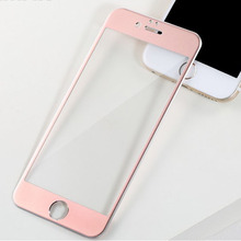 Remax Full cover screen protector Metal+steel tempered galss for iphone 6s IP6 plus high quality wholesale With retail package