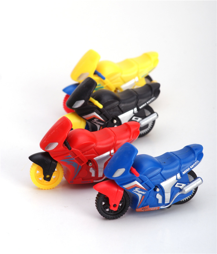 Free shipping Pull Back Motorcycle Children Toys for Kids Intellectual Educational Mini Motorcycle Toy(China (Mainland))
