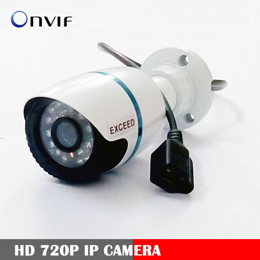 security camera 1280*720P 1.0MP IP Camera ONVIF 2.0 Waterproof Outdoor IR CUT Night Vision P2P Plug and Play H.264 mini camera(China (Mainland))
