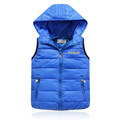 2016 hot autumn and winter Children s clothing boys girls solid color kids down jacket high