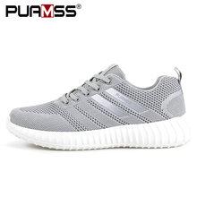Zapatos de marca de Hombre ligeros transpirables para Hombre Zapatos casuales de alta calidad calzado de malla Zapatillas de deporte al aire libre Hombre(China)