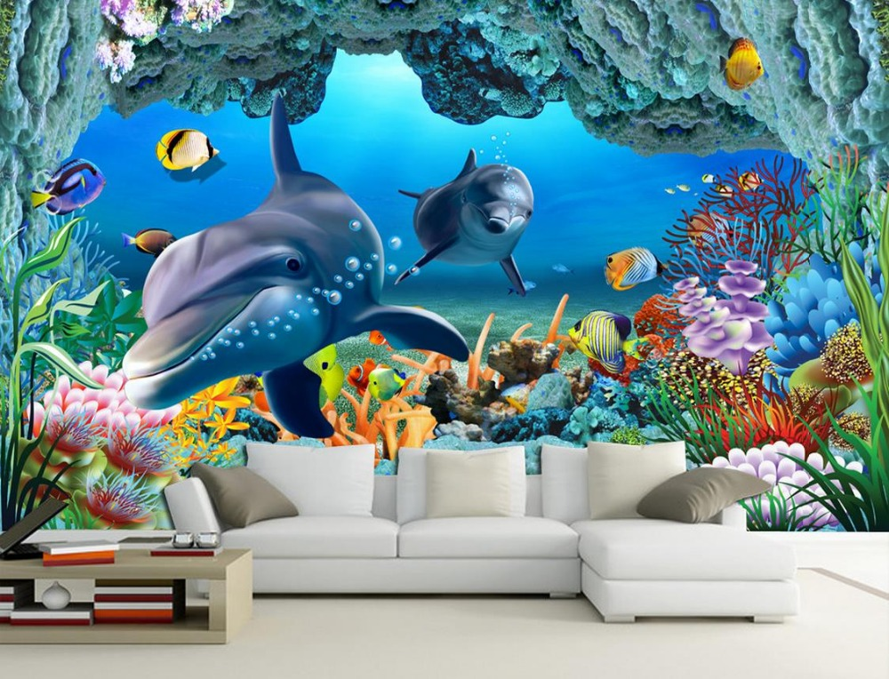 online get cheap underwater wall murals aliexpress com