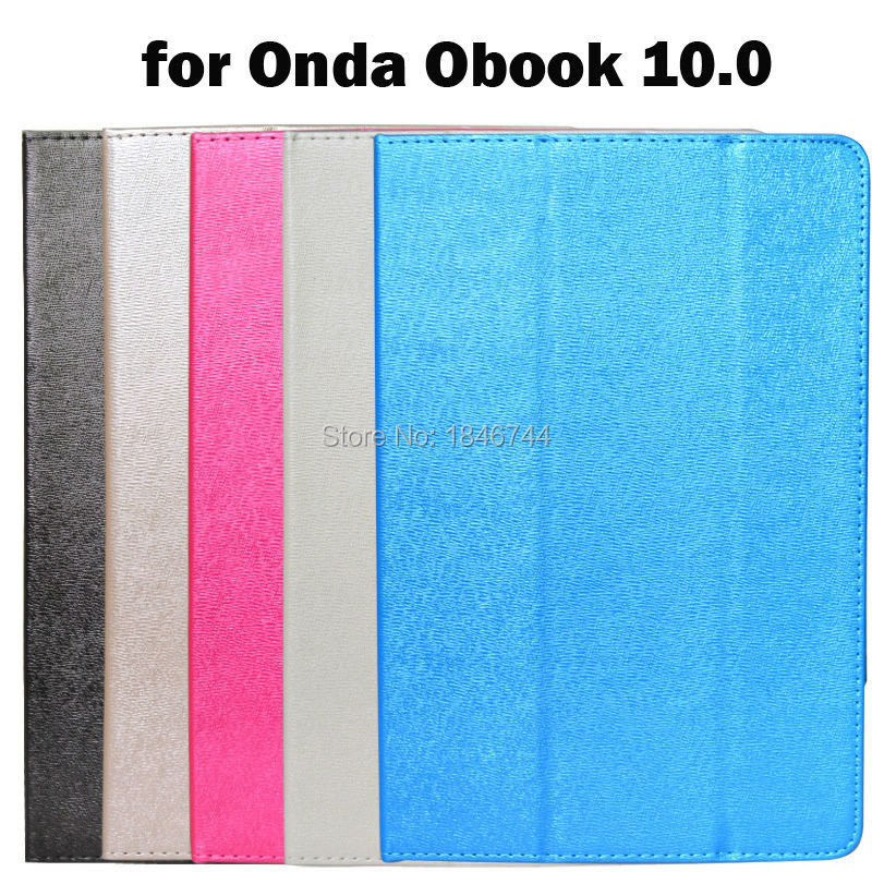 """New Fashion Solid PU Leather Flip cover Case For Onda Obook funda flip cover Onda Obook 10"""" stand holder case(China (Mainland))"""