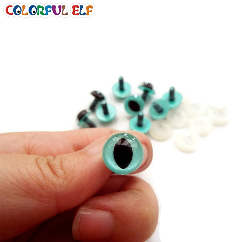 Free Shipping 100pcs/lot 7.5mm/9mm/10.5mm/12mm cat eyes come with washers(China (Mainland))