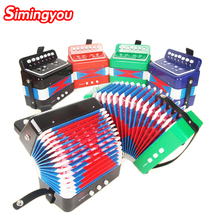 Simingyou Children'S Toy Musical Instrument Simulation Accordion Music Toys Educational Toy Kids Musical Accordion BSFQ01(China (Mainland))