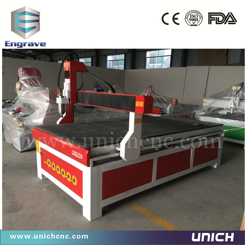 Competitive price!!! cnc router price 1200x2400mm Unich vacuum table for cnc(China (Mainland))