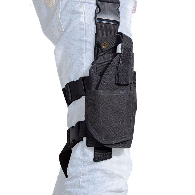 Airsoft Tactical Tornado Universal Pistol Drop Leg Holster For Left Hand Right Hand Military Thigh Holster Gun Holster Black <br><br>Aliexpress