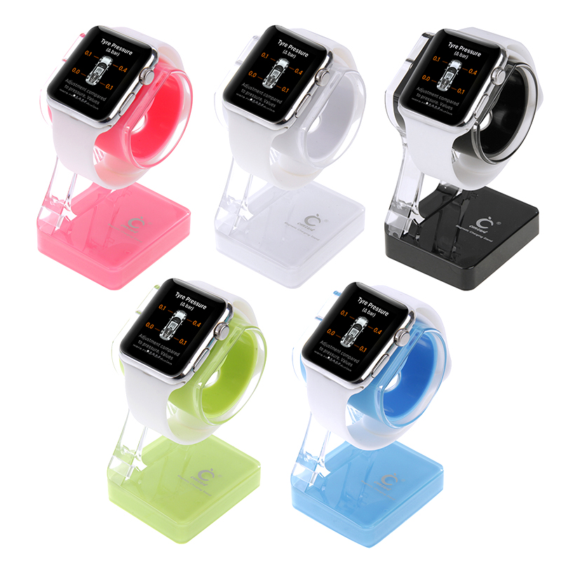 New Plastic Charger Holder Stand for mobile phone iPhone Samsung HTC Nokia Sony Apple Watch 38mm 42mm(China (Mainland))
