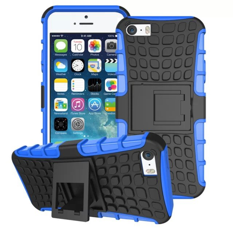 Coque For Apple iPhone 4 4s 5 5s 6 6s 5C SE Plus Heavy Duty Armor Shockproof Hybird Hard Rugged Rubber Case Cover Capa Capinhas