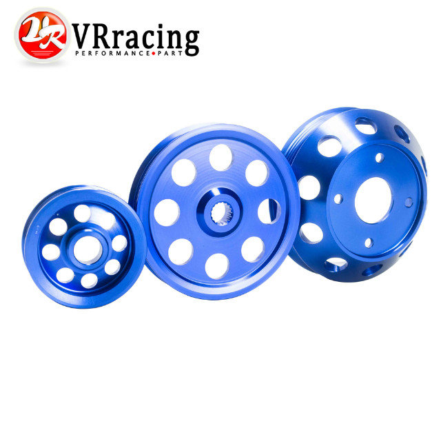 LIGHT-WEIGHT CRANK PULLEY For Nissan SILVIA S14 S15 SR20 PULLEY