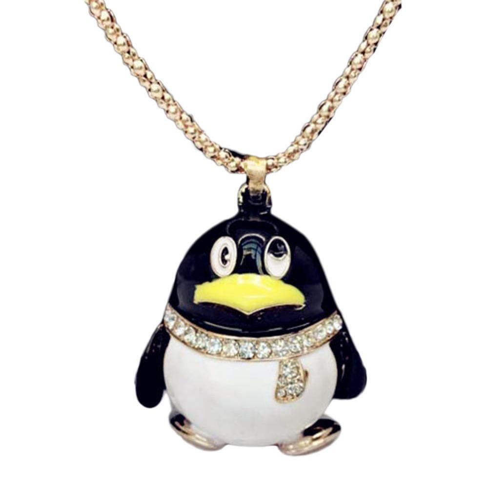 popular penguin necklace buy cheap penguin necklace lots