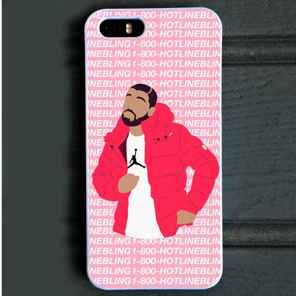 Funny emoji Hard Cover Back Case for iPhone SE 4S 5C 5s 6 6s Plus Hotline bling if you are reading this please buy my case(China (Mainland))