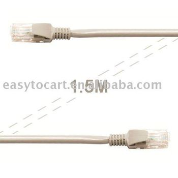 5 FT 1.5M CAT5 5e CAT5e RJ45 Ethernet Network Lan Cable for Laptop PC