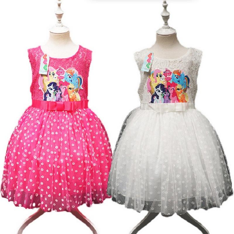 Hot Sale New 2015 summer Girls dress Bow Belt  dot Princess vest dress kids Dress girl's Party dress Clothes 1-5Y baby clothing