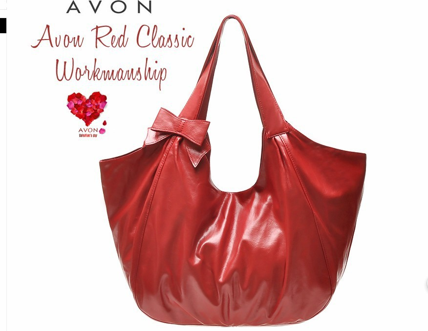 BAG9 DC604 AVON, AVON classic bordeaux red sweet bowknot cute single shoulder bag handbagFREE SHIPPING(China (Mainland))
