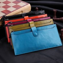 Men's Wallet 2015 New Fashion Men's Zip Fastener Long Wallets Men High Quality Multifunctional Wallet Purse With Cards Slots(China (Mainland))