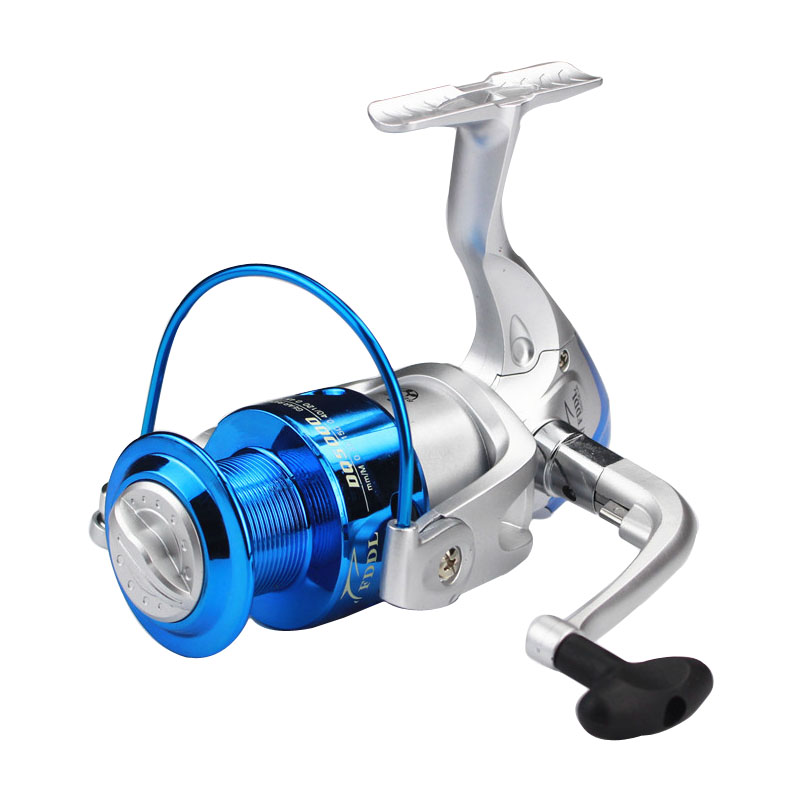 New Arrival Spinning Blue Fishing Reel Distant Fishing Wheel High Quality Spinning Reel 5.2:1 Sea Fishing Reel Fast Transport(China (Mainland))