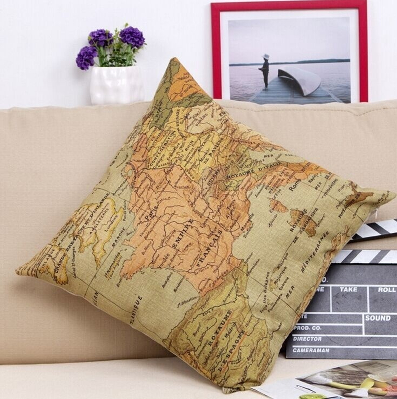 Online Buy Wholesale Us Map Pillow From China Us Map Pillow - Us map pillow