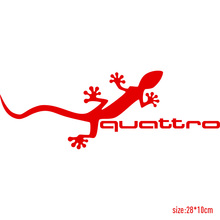 Buy 10 Pieces Customization Gecko quattro Car Covers Stickers Car-Styling audi a4 b6 a3 a6 c5 q5 q7 a5 car accessories for $18.99 in AliExpress store
