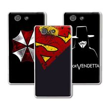Buy New Fashion Dark Man Case Sony Xperia Z3 Compact Case Cover Hard Plastic Sony Xperia Z3 Compact Z3 Mini Cover+Free Pen for $1.33 in AliExpress store