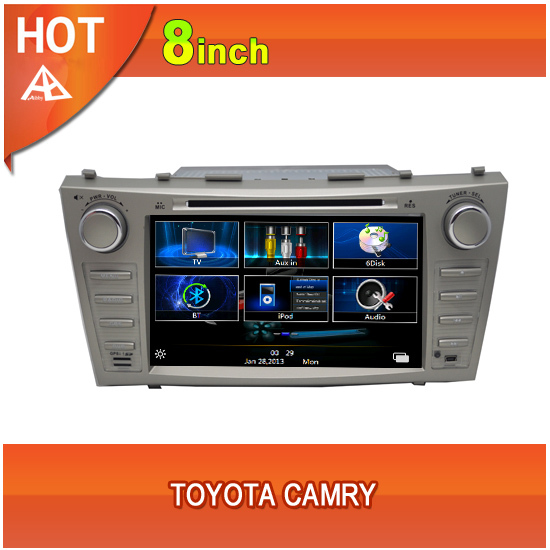 2 Din car dvd gps navigation toyota camry(China (Mainland))