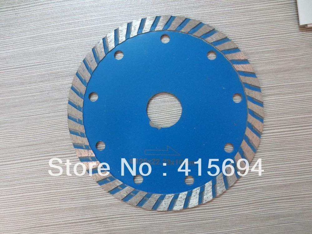 125x7x22.23-15.88mm cold press turbo diamond saw blade,saw blade for granite,circular saw blade for concrete.(China (Mainland))