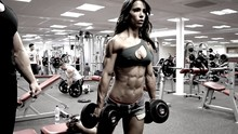 Wholesale fitness model posters