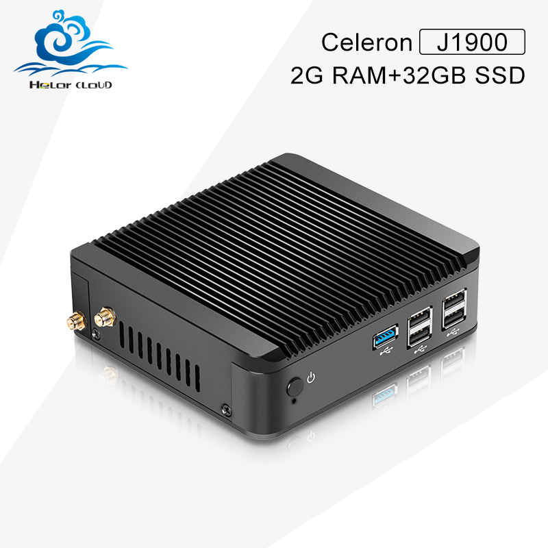Mini PC Linux J1900 2g ram 32g ssd with wifi Ubuntu Linux 12.04 Small Computer Case Support Hd Video Thin Client(China (Mainland))